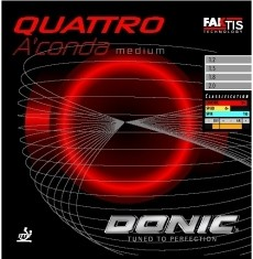 DONIC - Potah Quattro Aconda Medium