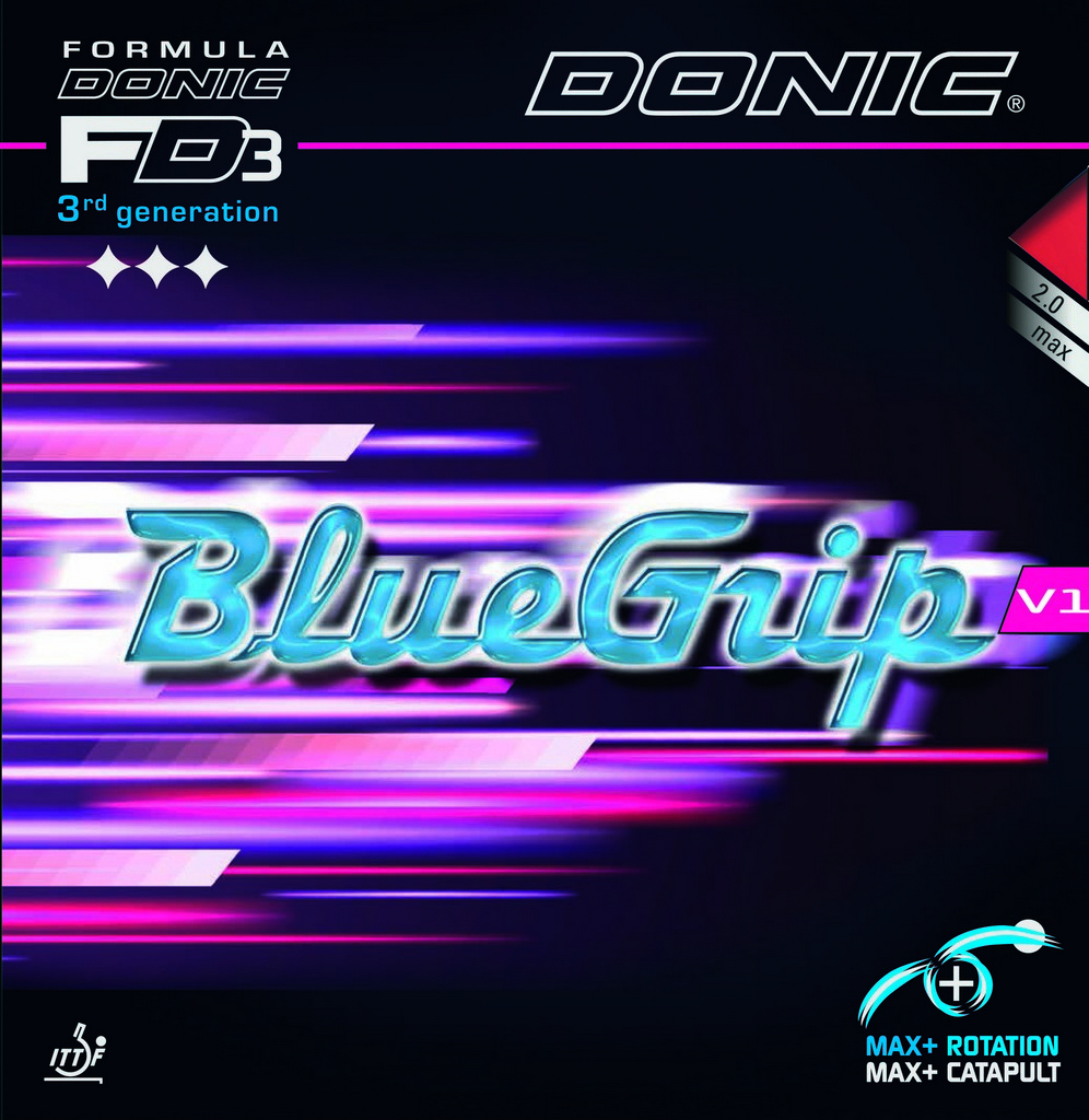 DONIC - potah BLUE GRIP V1